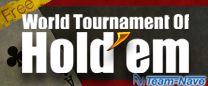 �m�[���~�b�g �e�L�T�X �z�[���f�� �|�[�J�[ �I�����C�� �g�[�i�����g �A�v���uWorld Tournament of Hold'em�v